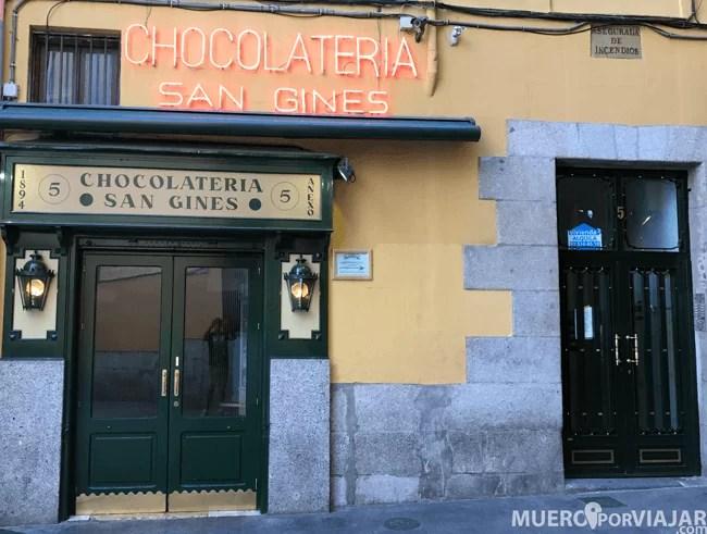 La famosa chocolatería San Ginés que mantiene todo el encanto de los 80