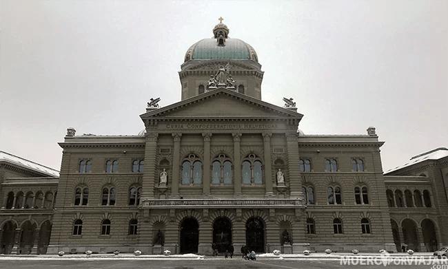 El Federal Palace of Switzerland en Bern