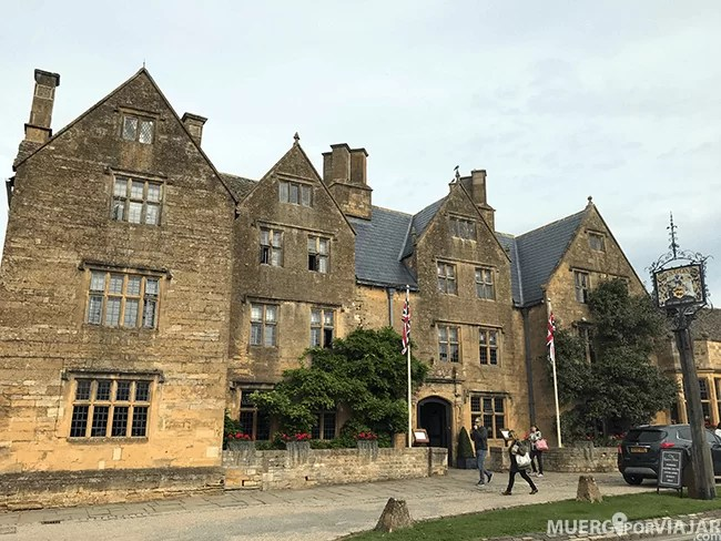 The Lygon Arms Hotel donde se hospedó Oliver Cromwell