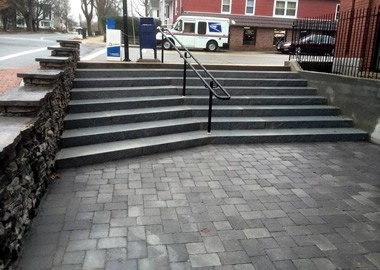 Granite Curbing Granite Steps Outdoor Stairs Concrete Landscape | Granite Design For Stairs | Floor | Front Wall | Bedroom | Grenite Pathar | Sunny