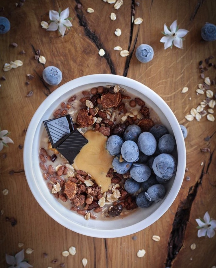 Porridge de chocolate