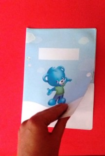 regalo de bienvenida, carpeta para documentos del bebe.