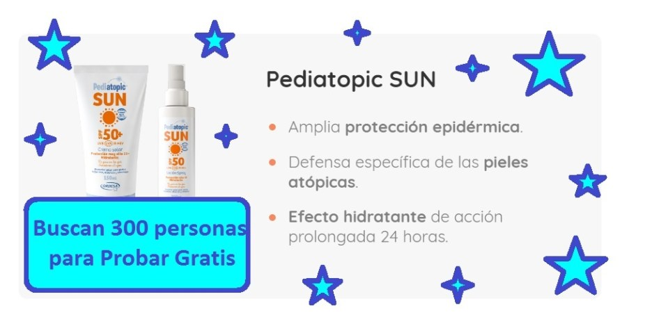 probar gratis pediatopic sun