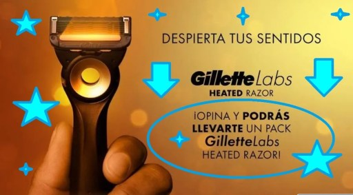 opina y gana Gillette Labs Heated Razor