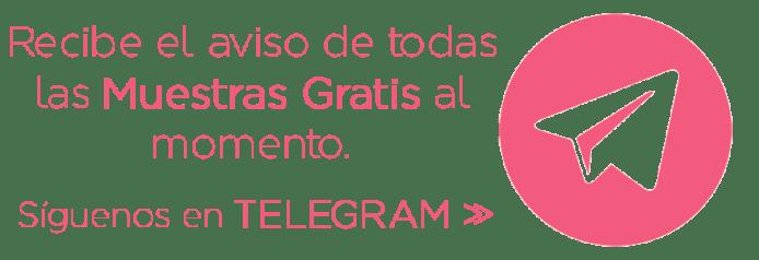 Canal de Telegram de Muestras Gratis y Chollos