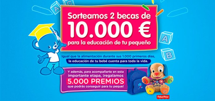 sorteo 2 becas Nestlé para tu bebé