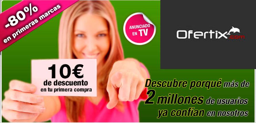 simbólico Huracán Contratado  10 euros de descuento en tu primera compra en Ofertix