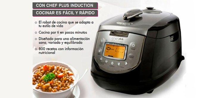 cocina con Chef Plus Induction