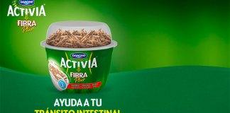 consigue 1 euro de descuento en Activia Fibra Plus