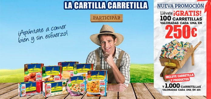 llevate gratis carretillas con La Carretilla