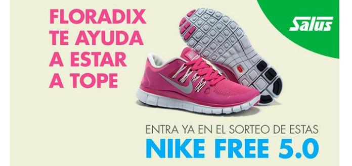 Consigue unas Nike Free 5.0