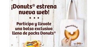 Llévate una bolsa exclusiva de Donuts