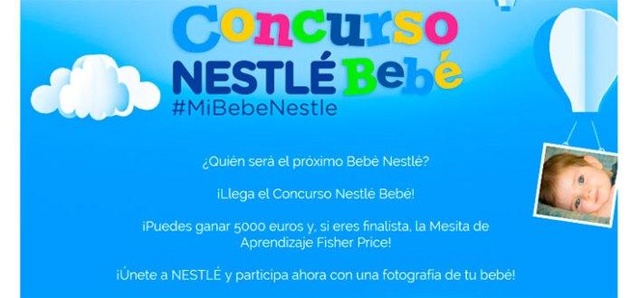 Gana 5000 euros en el concurso Nestlé Bebé