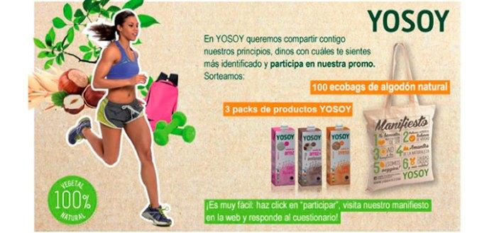 Yosoy sortea 100 Ecobags y 3 packs de sus productos