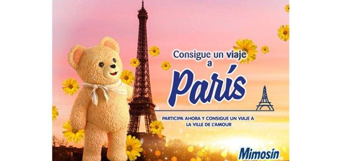 Consigue un viaje a París con Mimosín