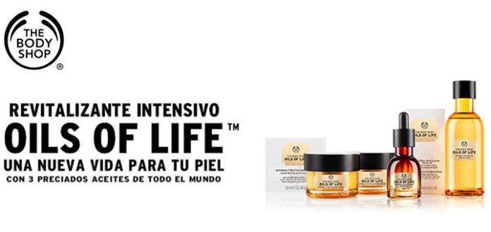 Muestras gratis de Oils Of Life de The Body Shop