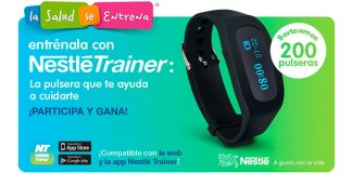 Gana una pulsera Nestlé Trainer