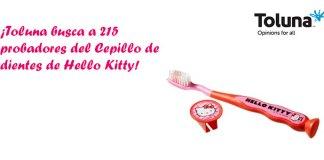 Prueba gratis Cepillo de dientes de Hello Kitty