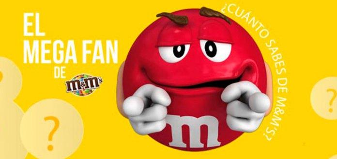 Consigue regalos con M&M's
