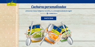 Consigue una cuchara personalizada con Carretilla