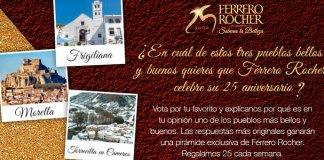 Ferrero Rocher regala 25 pirámides cada semana