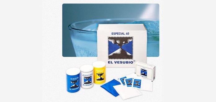 Muestras gratis soda El Vesubio