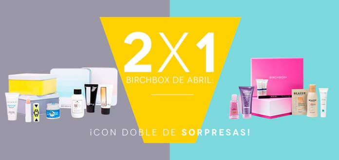 2 x 1 Birchbox