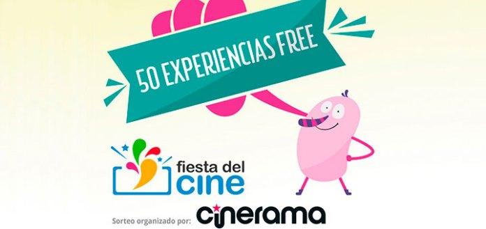 La Fiesta del Cine sortea 50 experiencias