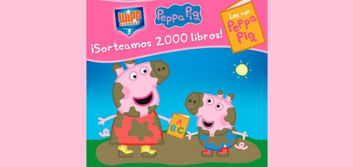 Sortean 2.000 libros Peppa Pig