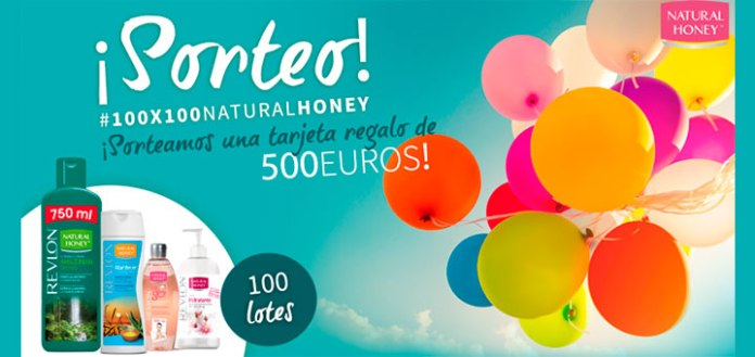 Natural Honey sortea una tarjeta regalo