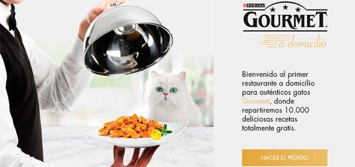 Purina regala Gourmet a domicilio