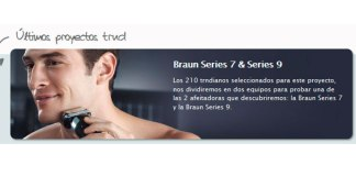 Prueba gratis afeitadoras inteligentes de Braun con Trnd