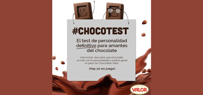 Gana un pack de chocolates Valor