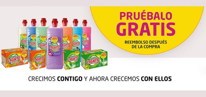 Prueba gratis productos Lagarto