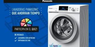 Gana una lavadora y entradas de cine con Panasonic