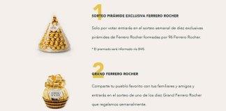 Gana una pirámide Ferrero Rocher