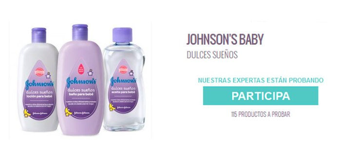 Prueba gratis Dulces sueños de Johnson's Baby