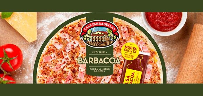 Prueba gratis la pizza barbacoa Casa Tarradellas