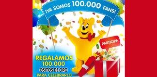 Haribo regala 100.000 ositos de oro