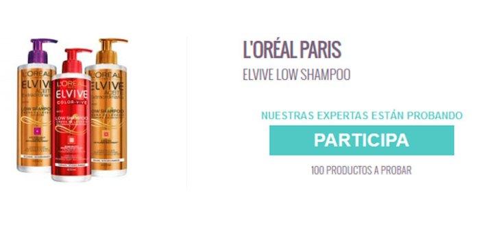 Prueba gratis Elvive Low Shampoo