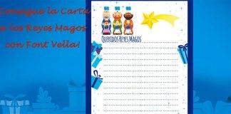 Carta a los Reyes Magos con Font Vella