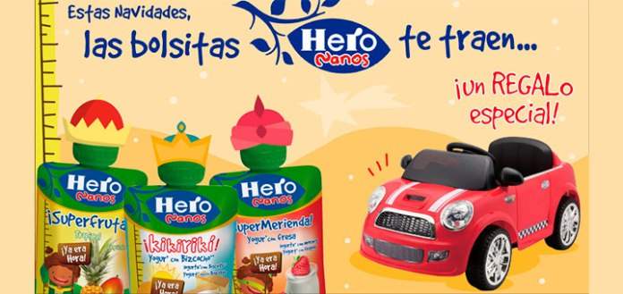Consigue un regalo especial con Hero Nanos