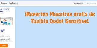 Muestras gratis de Toallita Dodot Sensitive