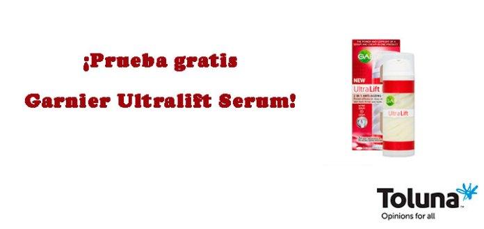 Prueba gratis Garnier Ultralift Serum