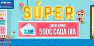 Danone sortea 500€ cada día