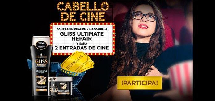 Gana 2 entradas de cine con Gliss