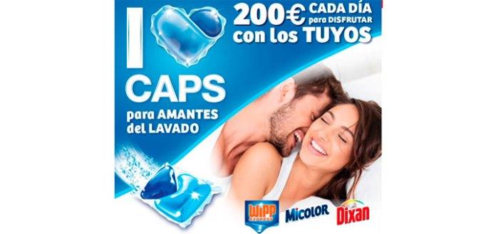 Gana 200€ con detergente en cápsulas