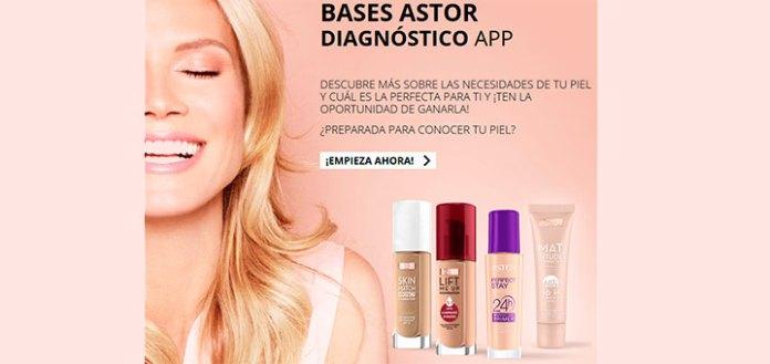 Sortean 50 bases de maquillaje Astor
