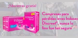 Muestras gratis de Indasec Discreet