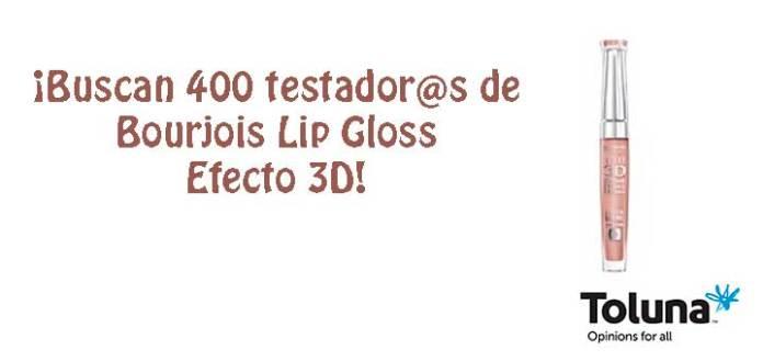 Prueba gratis Bourjois Lip Gloss Efecto 3D